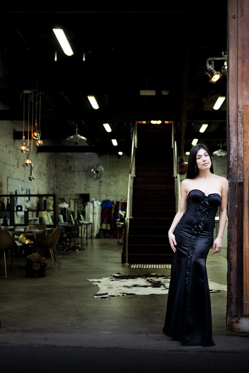 JASONGRECH couture gown for 2011 TV Week Logie Awards. Shot on location at the JASONGRECH Studio Photographer Damien Pleming