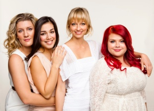 Virginia, Melanie, Zoe and Melissa